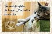 Tee-Postkarte - Tee erreicht Stellen,...