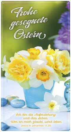 Schoko-Grüße - Frohe gesegnete Ostern