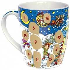 """Adventskalender-Tasse """"Weihnachtshaus"""""""