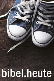 NeÜ Bibel.heute - Taschenausgabe - Motiv Schuhe